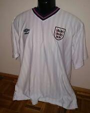 England National Team home retro replica shirt 1986 Umbro Size XL Jersey