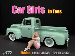 American Diorama 1:18 Scale Figure * Car Girl in Tees - Madee * AD-38239