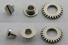 Rolex Watch Movement 3135 intermediate crown wheel + core & screw part 212 + 213