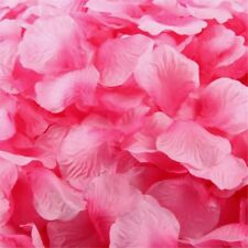 TWO TONE PINK SILK ROSE PETALS FLOWER TABLE DECORATION CONFETTI WEDDING PARTY