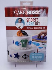 NEW Cake Boss Sports Cake Kit 28 Piece Decorating Set SEALED