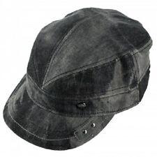 Gray Denim English Style Fashion Hat