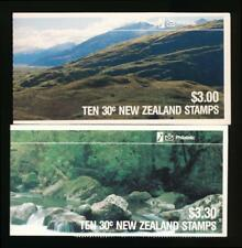NEW ZEALAND MINT NH 2 DIFF COVERS, BIRD- CPL BOOKLET