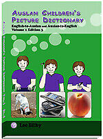Auslan Children's Picture Dictionary Vol1 Factory 2nd. Print quality not perfect
