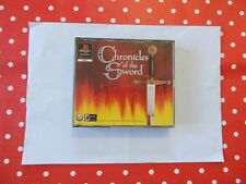 Chronicles of the Sword Playstation 1 PS1 PSX in OVP mit Anleitung