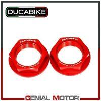 Kit Tuercas rueda trasera Rojo KDPR04A Ducabike Ducati Sportclassic Gt1000 2010
