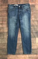 Anthropologie Pilcro and the Letterpress Jeans Distressed women's Size approx 27