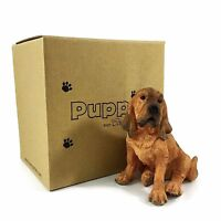 Bloodhound Puppy Sitting by COUNTRY ARTISTS Puppies HAND PAINTED 03500 NIB