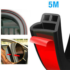 5m L Shape Auto Car Door Trunk Seal Strip Rubber Weather Strip Edge Accessories Fits 2012 Malibu