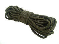 50ft PARA CORD Army olive survival rope SAS camping Military basha bivi paracord