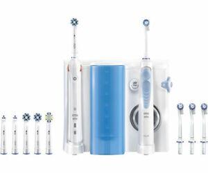 Oral-B Mundpflege-Center, SMART 5000 Elektrische Zahnbürste + OxyJet Munddusche