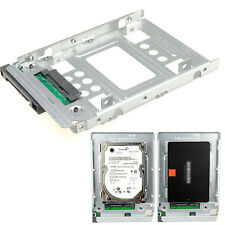 """2.5"""" SSD HDD to 3.5"""" SATA Converter Server Caddy Tray Holder For Lenovo ASUS"""