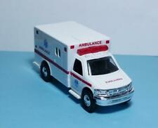 "New York Fire Department 5"" Die Cast Ambulance w/Pull Bk Power & Opening Bk Drs"