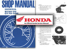Honda CT70 CT70H ST50 ST70 Service Workshop Repair Shop Manual 70 50 CT ST Shop