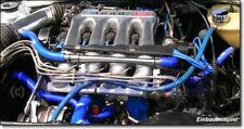 Golf 2 GTI 16V Wasserschlauch BLAU Set Gewebeschlauch Kühlwasserkreislauf Neu