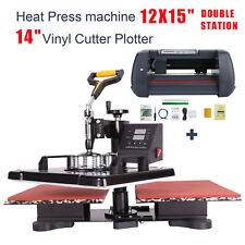 Double Station Heat Press 12