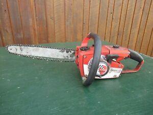 "Vintage HOMELITE SUPER MINI Chainsaw Chain Saw with 14"" Bar"
