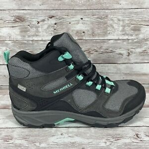 Merrell Select Dry Womens Size 7.5 Mid Hiking Boots  Waterproof J35828