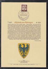 DE 96 ) BRD Privat ETB 1961 - Bedeutende Deutsche Elisabeth von Thüringen