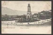 Chile Postcard Plaza De Iquique Panoramic View 1900 L@@K