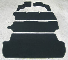 Car Mats in Black to fit Toyota Lucida Estima Facelift - FREE COLOURED TRIM!