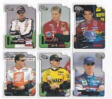 2000 Trackside DIE-CUT Complete 45 card set BV$50!! Earnhardt, Gordon, Dale Jr.