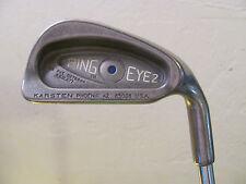 "39"" Ping Eye 2 Blue Dot #3 Iron. ZZ Lite Steel Shaft. Golf Pride Mid Size Grip."
