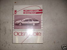 1991 GM Oldsmobile OLDS CUSTOM CRUISER Service Repair Shop Manual 91 DEALERSHIP