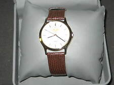 Boy Scout Selco Wrist Watch with Leather Band   eb13