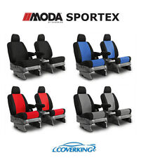 CoverKing MODA Sportex Custom Seat Covers for Nissan Titan
