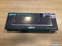 Logitech K830 Tastatur RF Wireless QWERTY (UK, US) Illuminated Schwarz, NEU, OVP