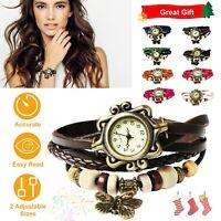 Women's Fashion Ladies Wrist Watch Bohemian Style Handmade Retro Jewelry