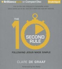The 10-Second Rule : Following Jesus Made Simple by Clare De Graaf (2014, CD,...