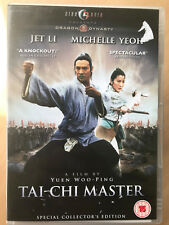 Jet Li Tai Chi Master 1993 Arts Martiaux Film HKL Hong Kong Legends GB DVD