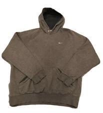 Mens Nike Fleece Full Zip Hoodie Green Size Medium