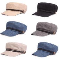 Men Classic Flat Driving Golf Cap Outdoor Elastic Casual Cabbie Newsboy Hat