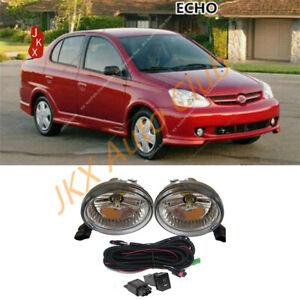 For Toyota Prius /Highlander /Scion /Echo 2000- Bumper LED Fog Light & Harness c