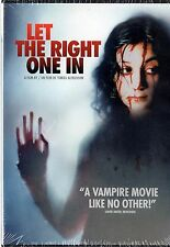 Let the Right One In (DVD, 2009)  Vampire Tale  BRAND NEW