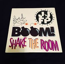 DJ Jazzy Jeff Autographed Boom Shake The Room Vinyl Record Album/ JSA
