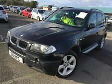 "54 BMW X3 2.0 D SE MEGA SPEC, LEATHER, SAT NAV, CLIMATE, CRUISE, 18"" ALLOYS,"