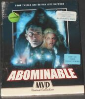 ABOMINABLE usa blu-ray + dvd NEW SEALED collectors edition MVD REWIND COLLECTION