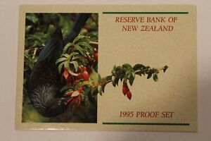 1995 New Zealand 7 Coin 2 Piece COA & Document Set~No Coins