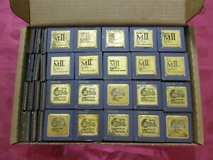 1LB Lot 11 Cyrix VIA CPU Processor Vintage Collectible or Gold Scrap Recovery