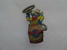 Hard Rock Cafe Houston pin Rodeo Clown on Barrel