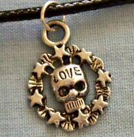 ))_  GOTHIC..SCULL  ~  NECKLACE_((  ---- (GREAT_CHRISTMAS_GIFT)