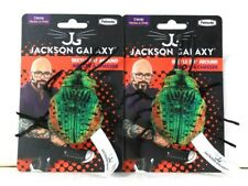 2 Ct Petmate Jackson Galaxy Catification Fresh Organic Catnip Beetle Bat Around