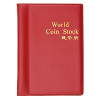 1pc Collecting 120 Pockets World Coin Collection Storage Holder Money Album Book