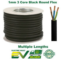 RUBBER CABLE 3 CORE 1.0MM HO7RN-F HEAVY DUTY GARDEN POND OUTDOOR SITE EXTENSION