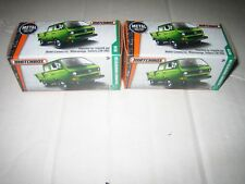 MATCHBOX LOT OF TWO (2) VOLKSWAGEN TRANSPORTER CAB IN A BOX MIMB LOW US SHIP