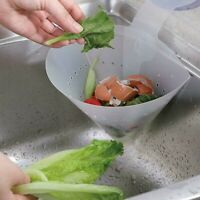 Kitchen Drain Sink Strainer Filter Food Catcher Foldable Anti-Blocking Device Bs